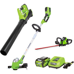 String Trimmer, leaf blower, and hedge trimmer, cordless - 58V