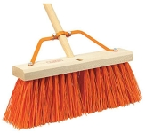 "Push Broom, 16"", 3"" brush"