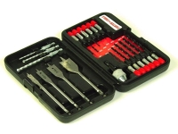 Drill Bit Set (20 Pc) w/Quick Release Adapter