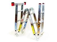 Ladder, Aluminum, folding - 12'