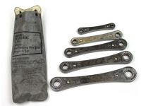 Wrench, metric, box, ratchet, double-ended, set of 5