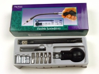 Screwdriver, flexible, set