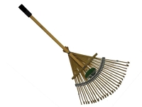 Rake, bamboo - 2'
