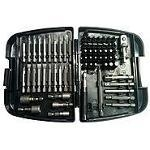 Driver bit set, Kincrome, 128 Pc.
