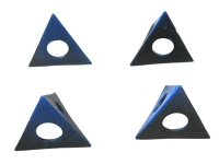 Painter's pyramid, set of 4