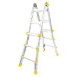 Ladder, Aluminum, folding - 17'