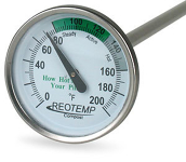 Thermometer, Compost