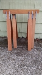 Sawhorse - set of 2 (wood)
