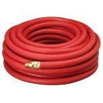 "Compressor Hose, 25 x 3/8"" red hose, rubber 300 psi"
