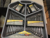 SAE wrench set