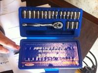 20 piece Drive Socket Wrench Set