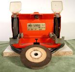 """portable 5"""" bench grinder."""