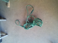 25' Green Extension Cord