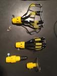 extension pole light bulb changer 4 piece set