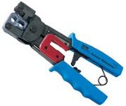 Ratchet Telemaster telephone and network cabling tool