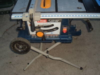 "10"" table saw (No Stand)"