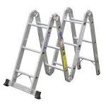 Krause Multimatic 12ft industrial ladder Model 121
