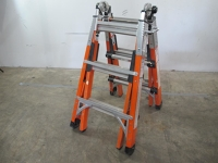 short adjustable commercial ' Folding Ladder