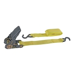 "20ft ratcheting tie down strap 2"" wide"