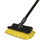 "10"" poly fiber Push Broom"