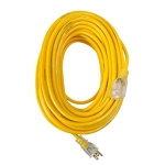 50' Extension Cord yello (12 Gauge)