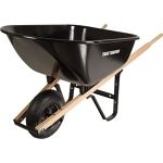 Wheel Barrow, black