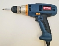 "3/8"" Variable Speed Drill Ryobe"