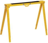 Yellow Folding Sawhorse