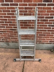 Werner 8-16' Adjustable Folding Ladder