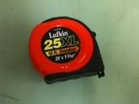 Tape Measure, 25' Lufkin