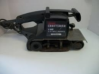 "Craftsman 3"" x 24"" belt sander"