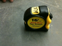 Tape measure, 16' Titan