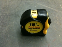 Tape measure, 12' Titan