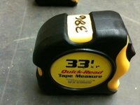 Tape measure, 33' Titan