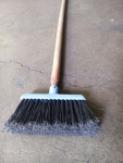 wash Broom , small, screw on 4 ft red handle