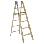 10' Wooden A-Frame Ladder