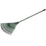Wooden Handle Leaf Rake