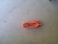 50' Extension Cord with Triple Tap