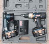 Cordless Drill and Flashlight