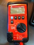 Black and Red Multimeter