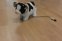 Roly Poly Cow Switch Toy