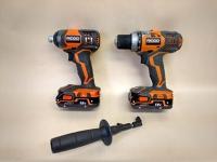 Cordless Drill & Driver Set