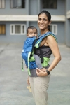 Soul Slings Neon Anoona buckle carrier