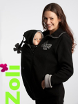 Zoli Babywearing Fleece Black Medium