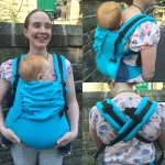 Isara Toddler Turquoise Carrier (Wrap)