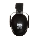 Childrens Ear Defenders Black