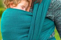 Baie Slings Snazzee Herringbone Woven Wrap 6