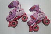 Childrens Roller Skates - DORA - Pink - Size 1/2