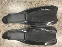 Fins - Flippers - Reef Tourer - Small - All black