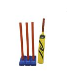 Cricket Bat and Stumps - Plastic